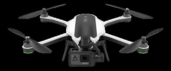 GoPro KARMA Drohne mit GoPro HERO6, Karma-Grip und BackPack