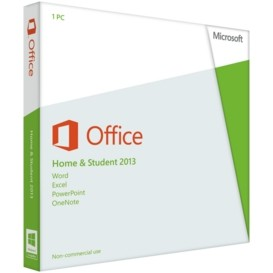 Microsoft Office 2013 Home & Student x64 Medialess DE