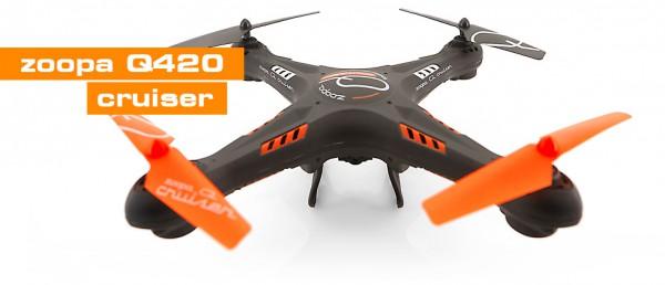 ACME zoopa Q420 Cruiser incl. HD-Kamera 2,4GHz