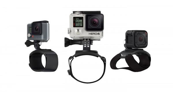 GoPro The Strap (für Befestigung an Hand + Handgelenk + Arm + Bein)
