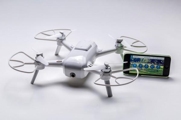 Yuneec Breeze Quadrocopter - Die fliegende Kamera zum Immer-dabei haben