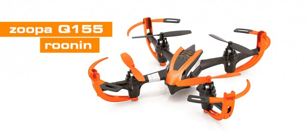 ACME zoopa Q155 roonin Quadrocopter 2,4GHz