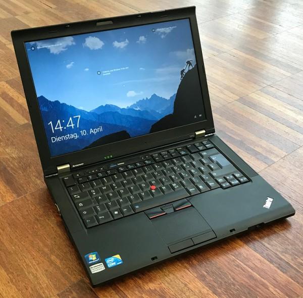 "Lenovo ThinkPad T410 refurbished Intel i5-M520, 14"", 4GB RAM, 160GB HDD, Win10Pro"